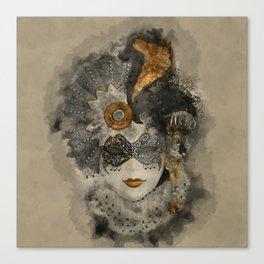 Venetian Mask 2 Canvas Print