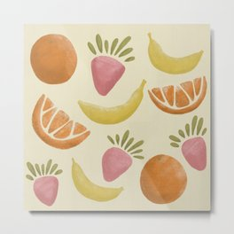 Fruit Variety  Metal Print