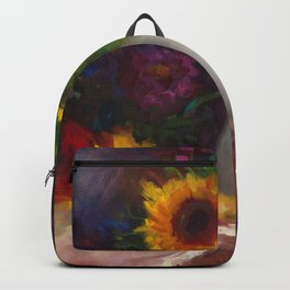 Sun Flower Still Life Dance with Me Backpack