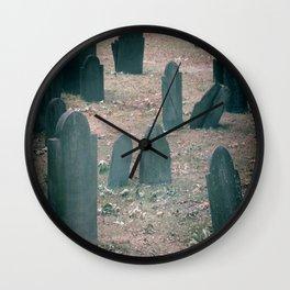 Spooky Little Graveyard Wall Clock