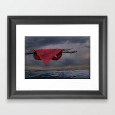 Heart on a Limb Framed Art Print