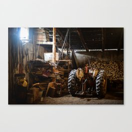The Tractor Canvas Print