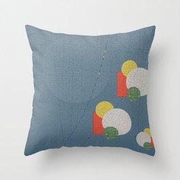 Iron Moon Throw Pillow