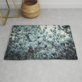 Magnolia Blues Rug