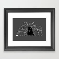 8 down, 1 to go Framed Art Print
