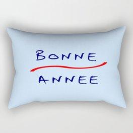 Bonne année 2 Rectangular Pillow