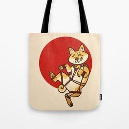 Shibari Inu Tote Bag