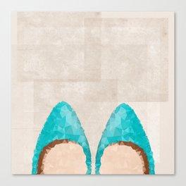 Magical Shoes Canvas Print