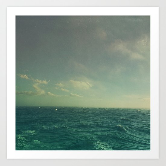 Limitless Sea Art Print