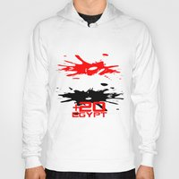 egypt Hoodies featuring Egypt Code by Maxvtis