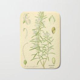 Botanical Rosemary Bath Mat