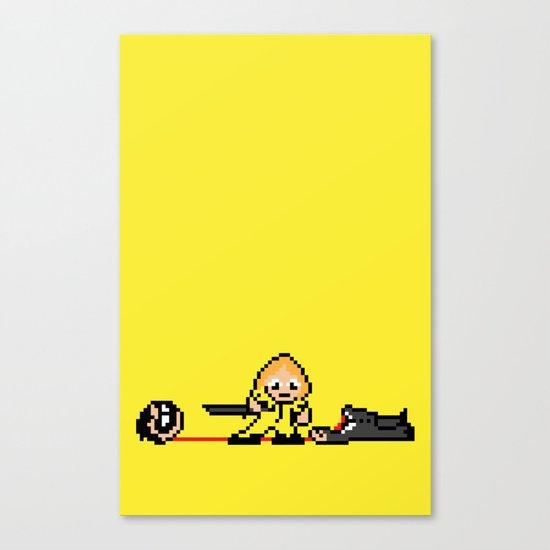 Kill Pixel Bill  Canvas Print