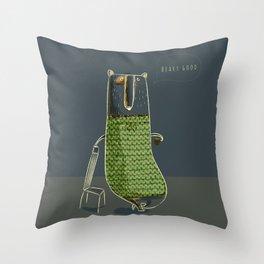 Beary good Throw Pillow