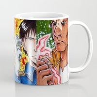 fullmetal alchemist Mugs featuring fullmetal squad by The Doom Cave