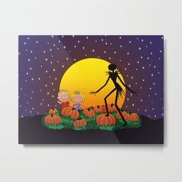 The Great Pumpkin King Metal Print