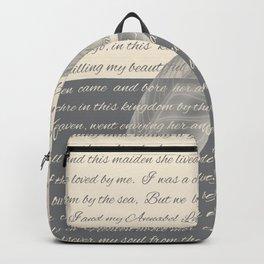 ANNABEL LEE (Allan Poe) Backpack