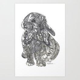 Sweet Bunny Art Print