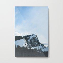 South Lake Tahoe Mountains Metal Print