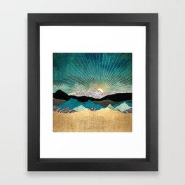 Peacock Vista Framed Art Print