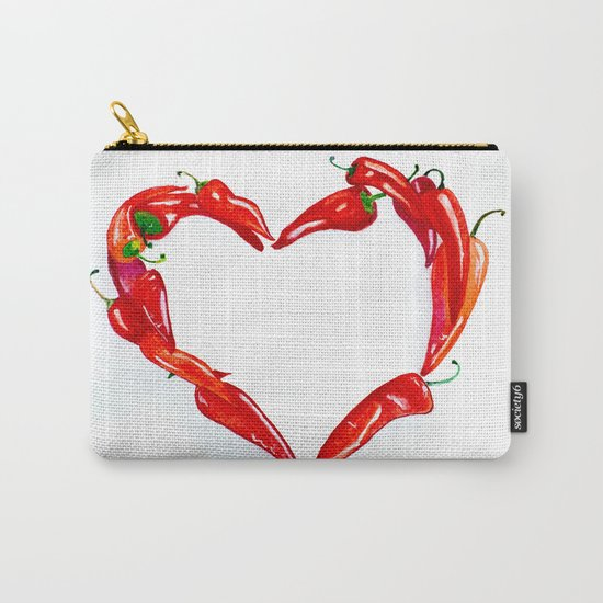 Peppers heart Carry-All Pouch
