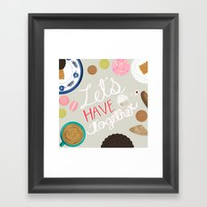Let's Have Tea Art Print Framed Art Print