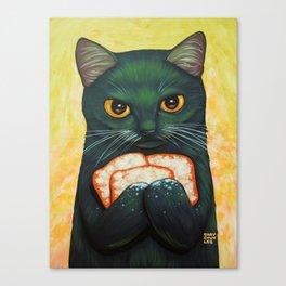 THREE BEIGNETS Canvas Print
