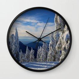 Cypress Mtn, Vancouver. Wall Clock