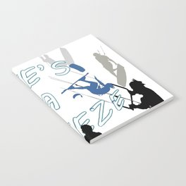 Life's A Breeze For Kitesurfers Notebook