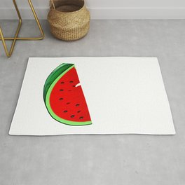 One In A Melon Tropical Summer Vibes Fruit Rug