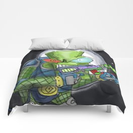 Martian Warlord Comforters