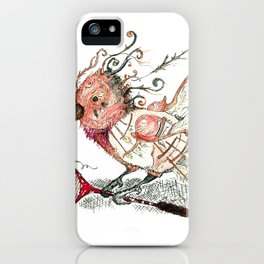 The Wild Badminton Birdie iPhone Case