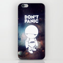 Don't Panic Marvin iPhone Skin