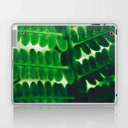 Electric Green Fern Laptop & iPad Skin