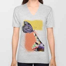 Come here sweet butterfly Unisex V-Neck