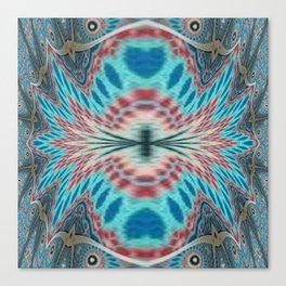 Mandalic Tiles Remandalad Canvas Print