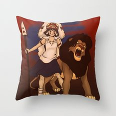 Great Kings of the Past Throw Pillow