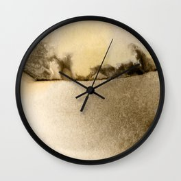 A Serene Life 1D - by Kathy Morton Stanion Wall Clock
