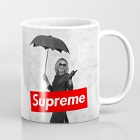 supreme Mugs featuring The Supreme by Dandy