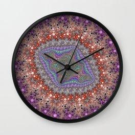 Fractal Lozenge Wall Clock