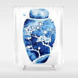 Ginger Jar I Shower Curtain