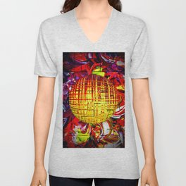 Abstract Perfection 24 Unisex V-Neck