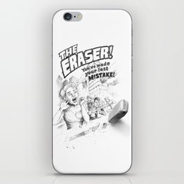 The Eraser iPhone Skin