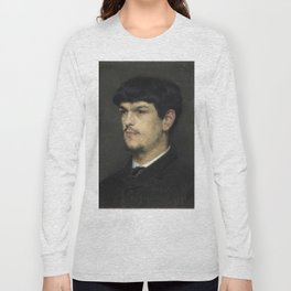 Claude Debussy (1862 – 1918) by Marcel Baschet, 1884 Long Sleeve T-shirt