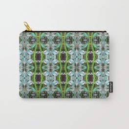 Jade Hearts Stained Glass Patten Carry-All Pouch