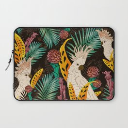 Tropical Cockatoos Laptop Sleeve