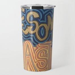 Awesome Plastic Travel Mug