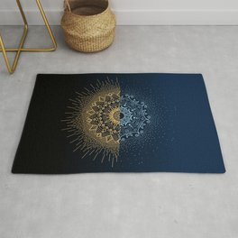 Eclipse in Space Rug