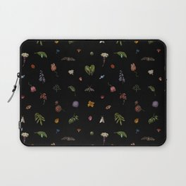 Nocturnal Floral Laptop Sleeve