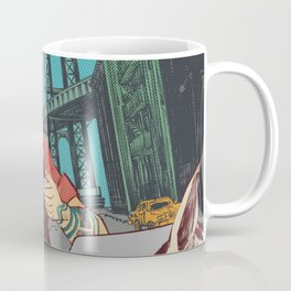 Hipster Cowboy Coffee Mug