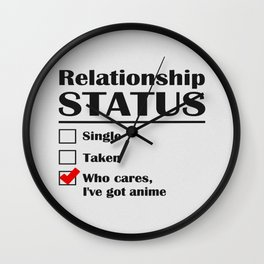 I've Got Anime Wall Clock